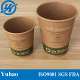 PLA Coated Paper Cups de 12oz Biodegradable