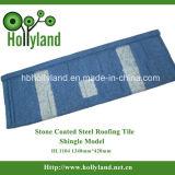 Piedra colorido de acero recubierta de teja (láminas Tipo)
