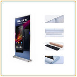 85 * 200cm Publicidade Poster Display Stand / Banner Stand