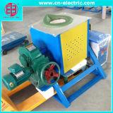 Horno de inducción de la frecuencia intermedia para la fusión del desecho del hierro