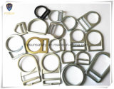 Boucles D-Shaped galvanisées de sûreté en acier de double fente