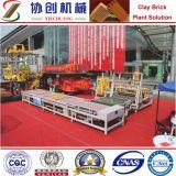 Chaîne de production de bloc briques allumées faisant la machine