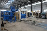 Bloco de cimento grande automático cheio da capacidade que faz a máquina