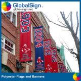 Sublimation feito sob encomenda bandeiras impressas do poliéster (DSP02)