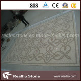 Diferentes colores Honed patrón de mosaico de mármol para el azulejo
