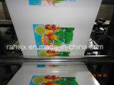 El engranaje helicoidal transmite la máquina flexográfica del plástico de la impresión