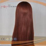 Helle rote Farbe Stright lange Haar-Perücke