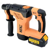 Roterende Hammer Drill met 2 Lithium Batteries en 1 Charger (NZ80)