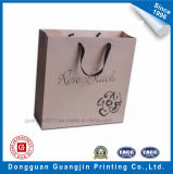 衣服および靴の包装のためのブラウンクラフト紙のショッピング・バッグ