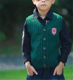 Il maglione Single-Breasted della maglia per i bambini mantiene caldo