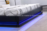 Ck013 уникально кровать конструкции СИД с Headboard