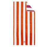 最上質の顧客用柔らかいジャカードビーチタオル