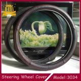 De Dekking van het Stuurwiel van het Leer van de vezel voor Vrachtwagen