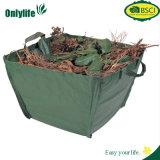 Le sac de jardin de grand dos de ménage d'Onlylife laisse le collecteur