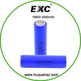 Ionenbatterie-nachladbare Batterie des Lithium-Wholesale18650 2000 3.7V