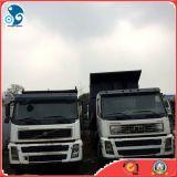 Caminhão de descarga usado de Volvo do caminhão de descarga do Dianteiro-Levantar-Despejar-Estilo 6X4 (FU415-chassis)