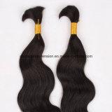 Cheveux humains de cheveux humains de Vierge brésilienne en vrac