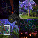 Dynamischer Garten-Laser Light Outdoor Laser-Lights Without Remote Control RGB Outdoor für Christmas und Indoor Decoration