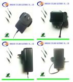 Switching Power Supply Blackのための18W Universal AC DC Adapter