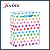 Glatter lamellierter Kunstdruckpapier-frisches tägliches Einkaufen-Geschenk-Papierbeutel