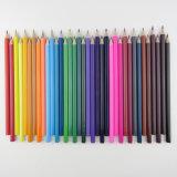 O lápis de madeira da alta qualidade e da cor da venda por atacado barata do preço ajustou 36 para miúdos