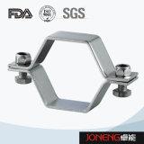 Edelstahl-gesundheitlicher normaler Druck-Hex Rohr-Halter (JN-PL1007)