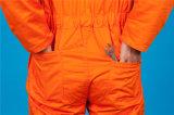 Da segurança longa da luva do poliéster 35%Cotton de 65% vestuário de trabalho barato (BLY1022)