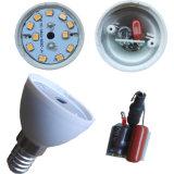 RoHSのセリウムSAA ULとの85-265V 5W 7W E14 SMD LED