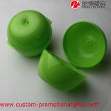 Grünes Apple-Form-Stroh-Cup PlastikBonbonniere Kasten