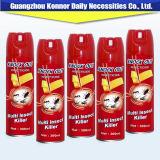 300ml Insecticide van het Aërosol van de Moordenaar van het Insect van de Nevel van het Aroma van het huishouden het Chemische