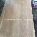 madera contrachapada de 18m m Okoume para Constructure b WBP grado B