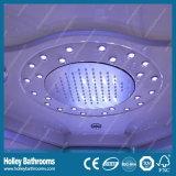 Clean Cut ordenador Cabina de visualización de ducha con asiento y grandes lámparas LED (SR119N)