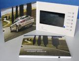 "7 "" LCD Bildschirm-videogruß-Karte"