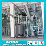 10t / H Equipamentos de processamento de alimentação / linha de processo de fresagem de alimentação