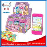 Speelgoed van de Telefoon van de muziek het Mobiele met Suikergoed voor Jonge geitjes