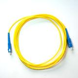 Sc ao cabo de correção de programa da fibra óptica da manutenção programada do revestimento de PVC Do Sc