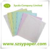 Papier-copie sans carbone de papier continu de NCR d'ordinateur