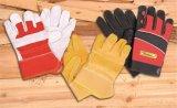 Productos de seguridad Guante de mecánico Guante de trabajo de palma y dedo DIY