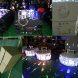 Luz de la etapa de la mariposa LED del equipo 2X10W del disco de DMX DJ