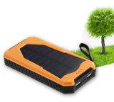 Мобильного телефона USB большой емкости заряжатель 12000mAh двойного портативного солнечный