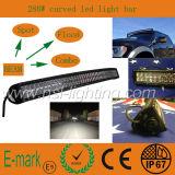 Haute qualité! ! ! 50inch LED Light Bar, 4 * 4 CREE LED Car Light, courbé 10-30V DC LED Lighting