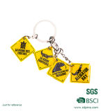 2016 Hot Sale Printing Custom Shaped Keychain