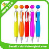 Unterschiedlicher Entwurfs-kundenspezifische Firmenzeichenballpoint-Plastikfeder (SLF-PP052)