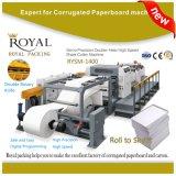 Rysm-1400 de dubbele Scherpe Machine van het Blad van het Document van het Mes van de Schroef