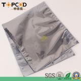 DÉCHARGE ÉLECTROSTATIQUE transparente de gris argenté protégeant le sac