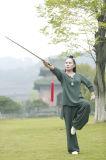 Хи Tai весны женщин Wudang Taoism & льна лета вскользь показывая одеяние способа