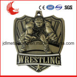 Recentemente medaglie molli di calcio di sport del metallo di sport dello smalto di disegno