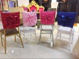 Rosette-Hochzeitspandex-Bankett Chiavari Stuhl-Deckel (JC-YT1633)