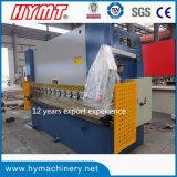 Máquina de dobra hidráulica da placa WC67Y-160X4000 de aço/máquina de dobramento do metal