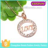 Halsband van de Kat van de Douane van het Kristal van de Juwelen van de Legering van Assessories van de Vrouwen van de manier de Zilveren